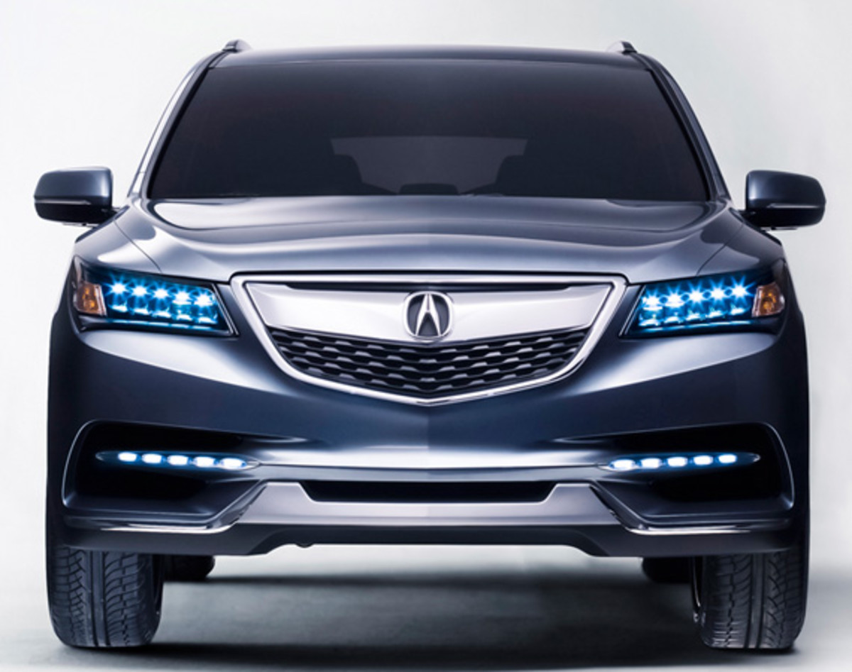 Acura MDX Prototype An Aero Sculpture Capable Of Seating - Acura mdx led fog lights