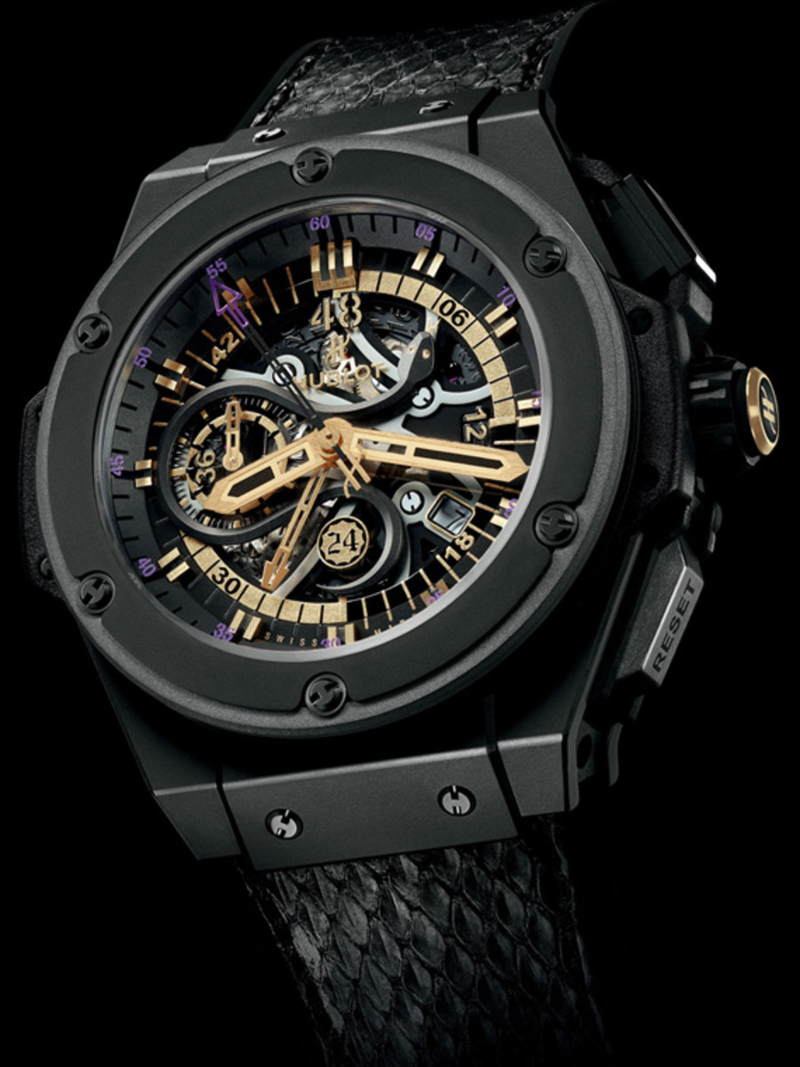 Kobe Bryant x HUBLOT King Power Black Mamba Chronograph Watch - 1