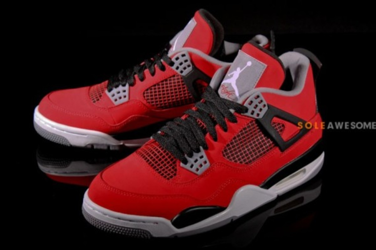 air jordan iv retro fire red toro release info. Black Bedroom Furniture Sets. Home Design Ideas
