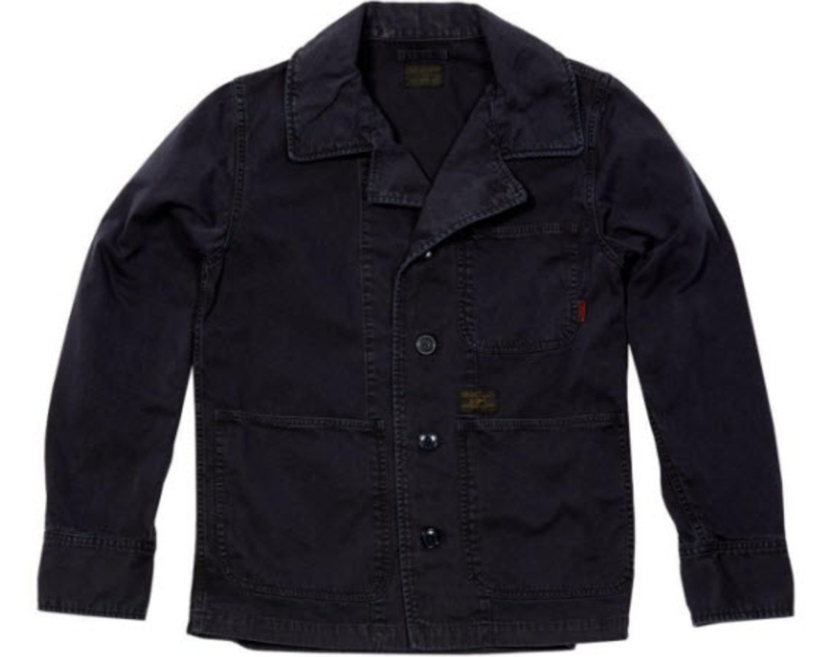 08e4c7a2 WTAPS continues its fascination with classic Americana apparel with their  latest jacket, the HBT. Following a beautifully redone military A-2 Leather  Jacket ...