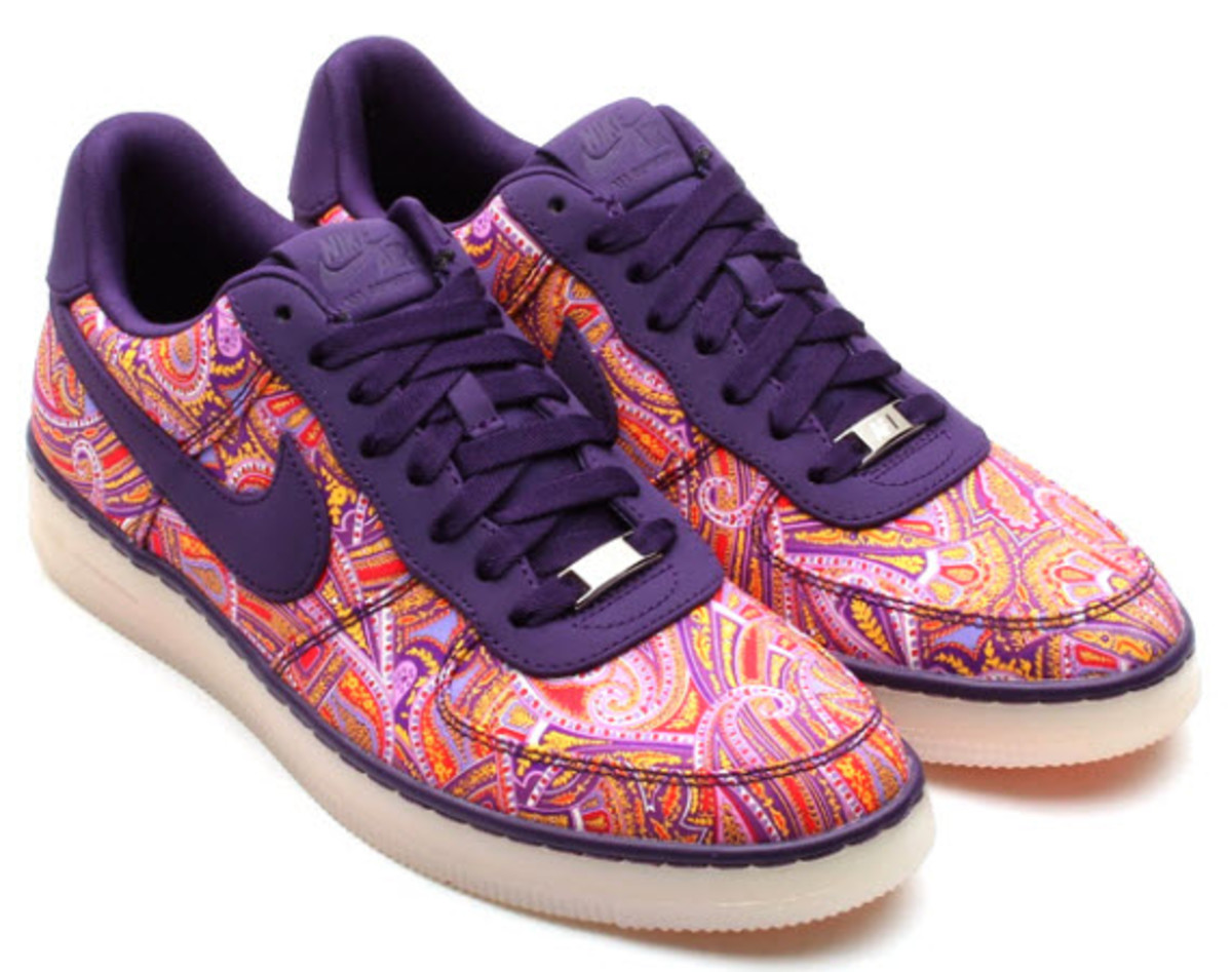 timeless design 76433 62faa ... that s historic, london based shop liberty at it once again with nike   Liberty x Nike Air Force 1 Downtown ...