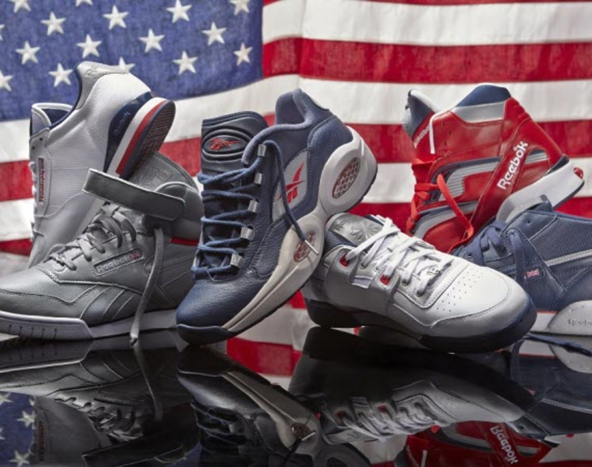 89f2c442b0f453 Outshine Uncle Sam this Fourth of July with this new Patriot Pack by Reebok  Classic. Comprised of six classic models to choose from