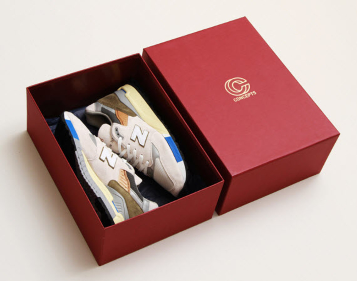"""sports shoes 9a876 c421f Concepts x New Balance 998 """"C-Note"""" - Freshness Mag"""