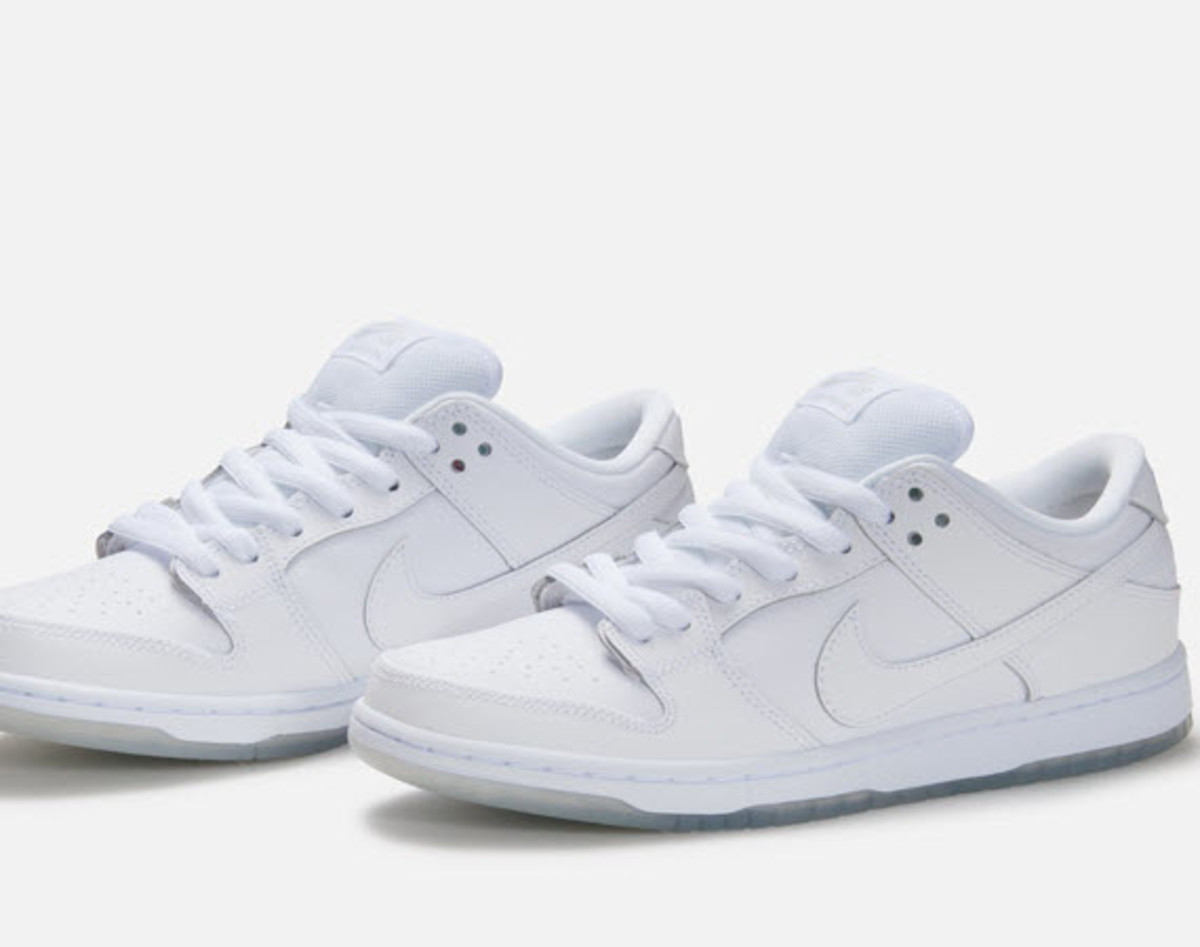 dunk low white