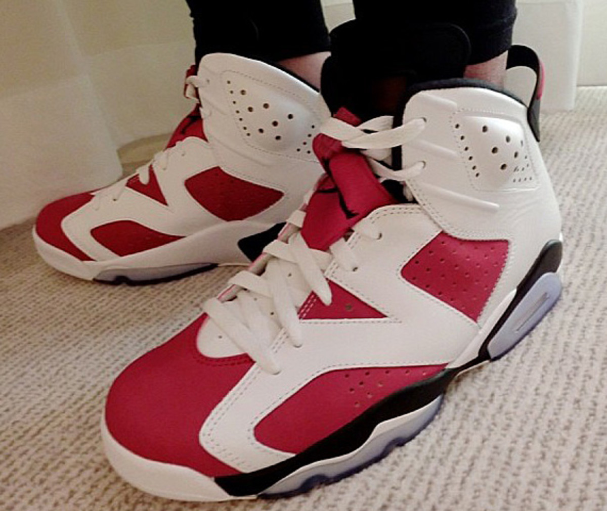 timeless design 39dfb 3eabd One of the original five released in 1991, the Air Jordan 6 Retro in White  Carmine-Black will be returning this summer as Jordan Brand s attempt to  fulfill ...