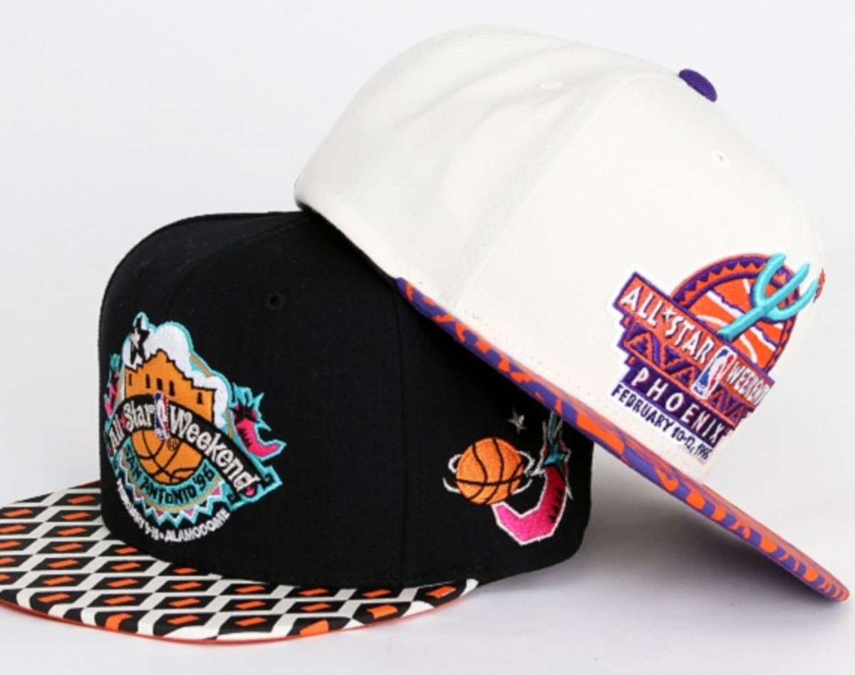 838b6524c EASTWEST x Mitchell and Ness - NBA All-Star Game Strapback Cap Pack ...