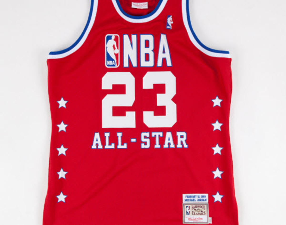 size 40 07543 cb87a Mitchell & Ness 1989 NBA All-Star Game Michael Jordan Jersey ...
