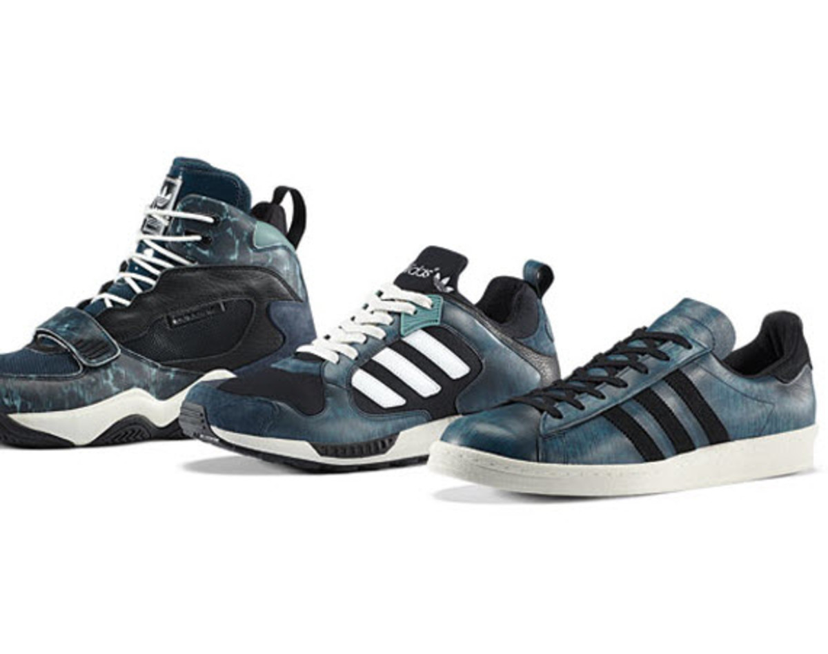 adidas FYW Reign, ZX5000 RSPN + Campus 80 - Streetwear Pack