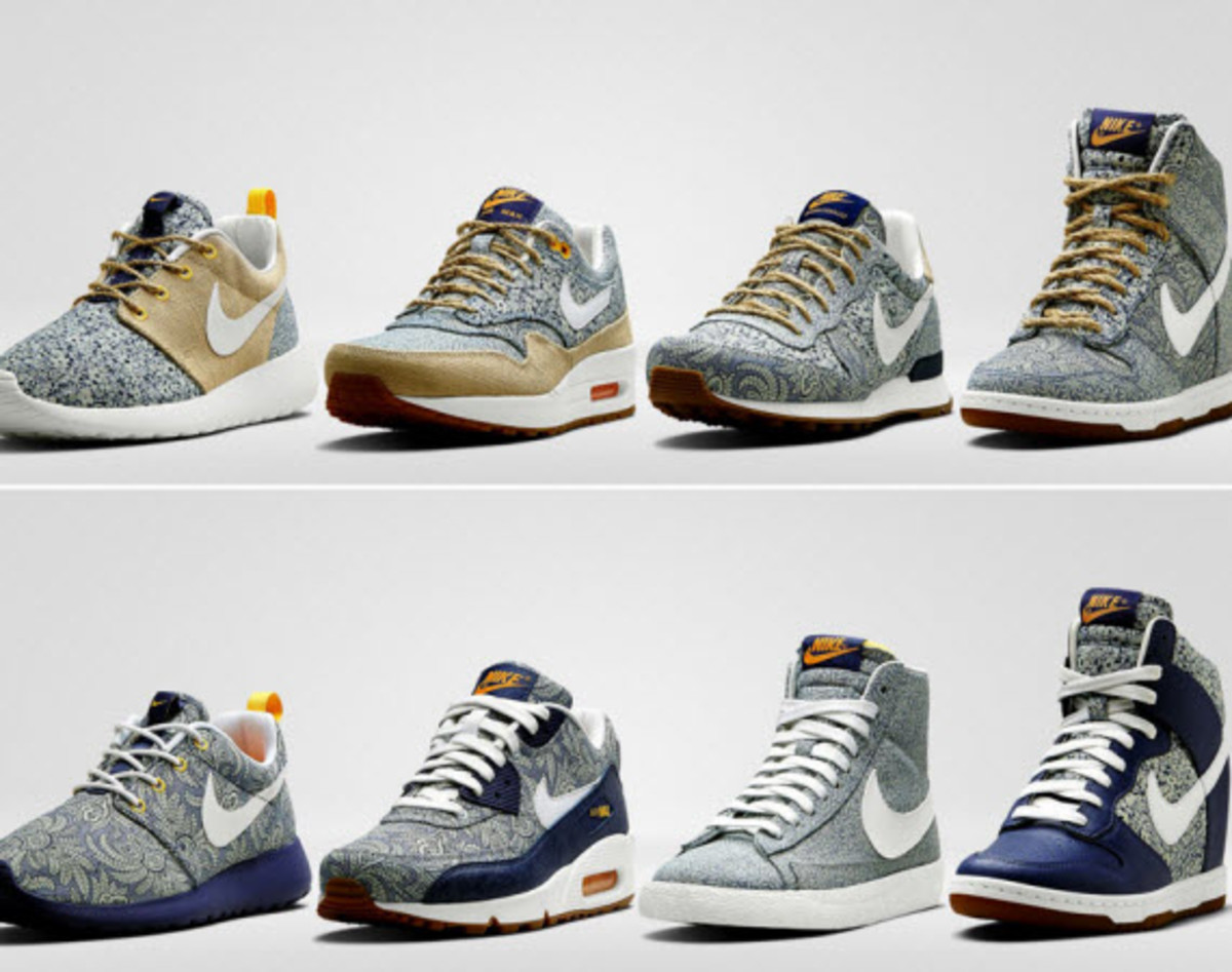 Buy Nike x liberty launch new collection picture trends