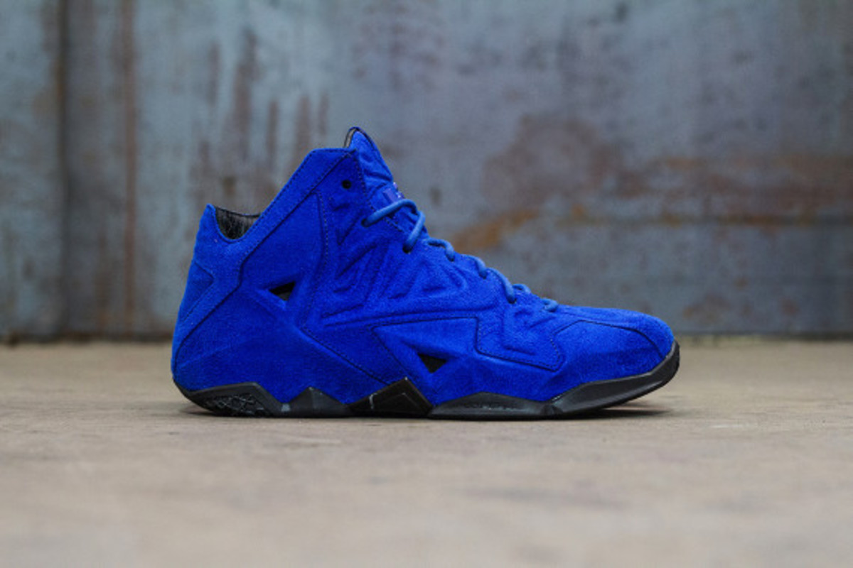 sports shoes f5ba6 a190c nike-lebron-11-ext-blue-suede-available-now-