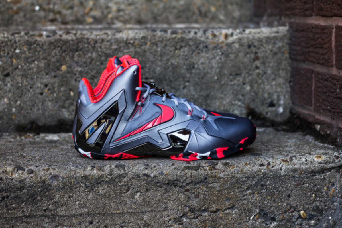 "best authentic 48433 06f9b Nike LeBron 11 Elite ""Team""   Release Reminder - 7"