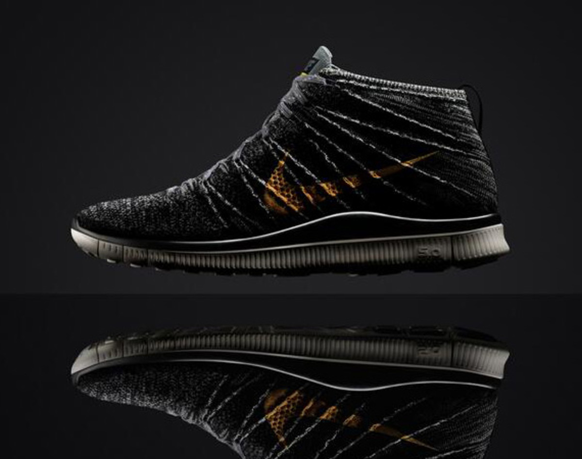 promo code 08f2e 4286a Since 2014 marks the 20th anniversary of the Nike Free design, it was  inevitable that the articulated sole found its way among the Flyknit Chukka  line.