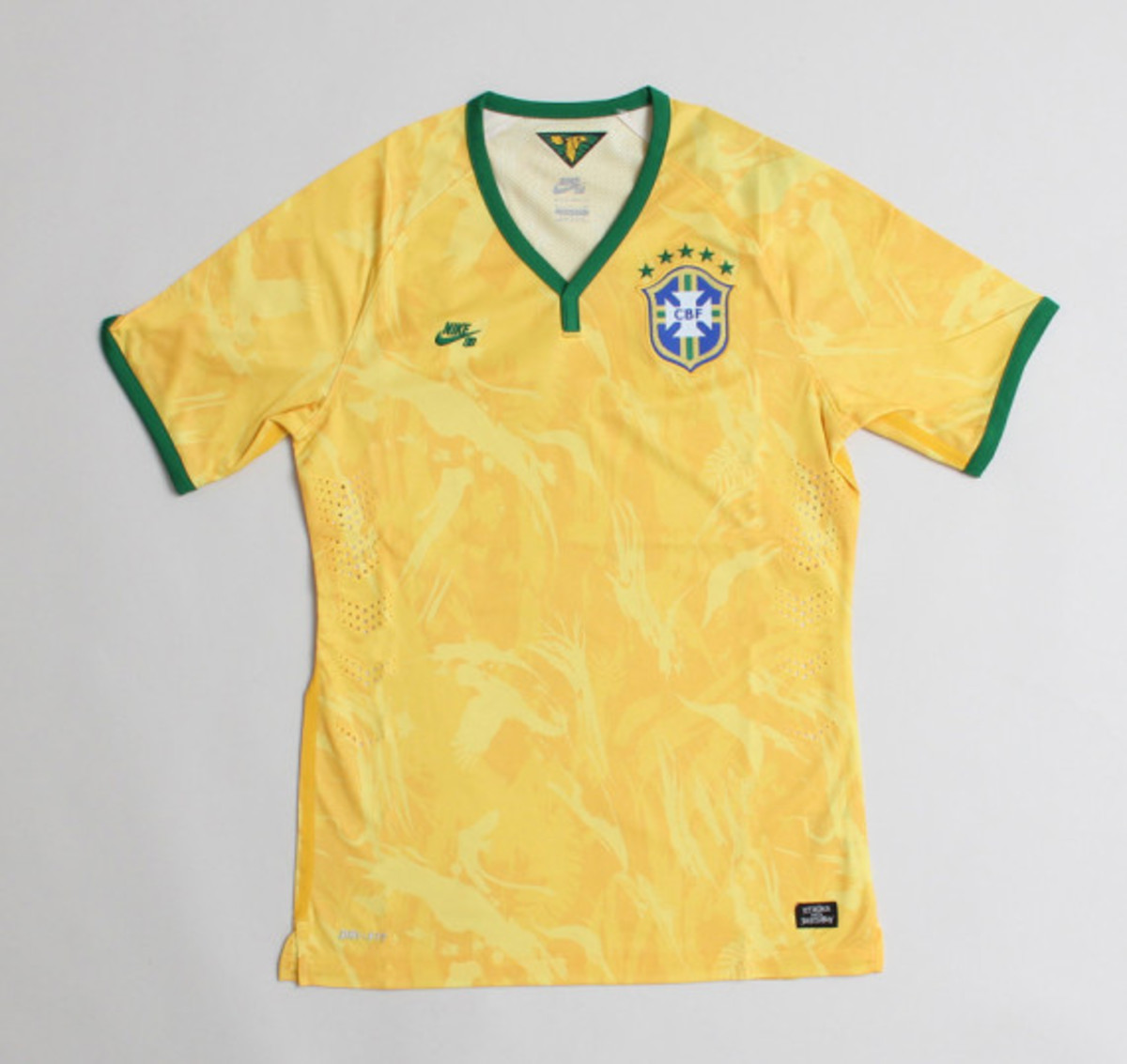 cb171f3b5f Nike SB - CBF Home Stadium Jersey for 2014 FIFA World Cup ...