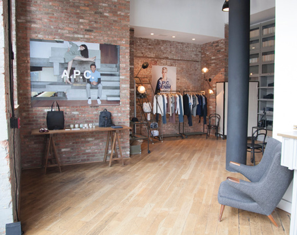 A P C Brooklyn Pop Up Shop At The Wythe Hotel