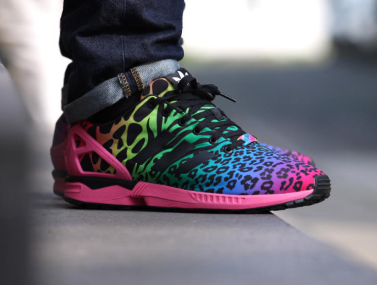 adidas zx flux italia independent multicolor