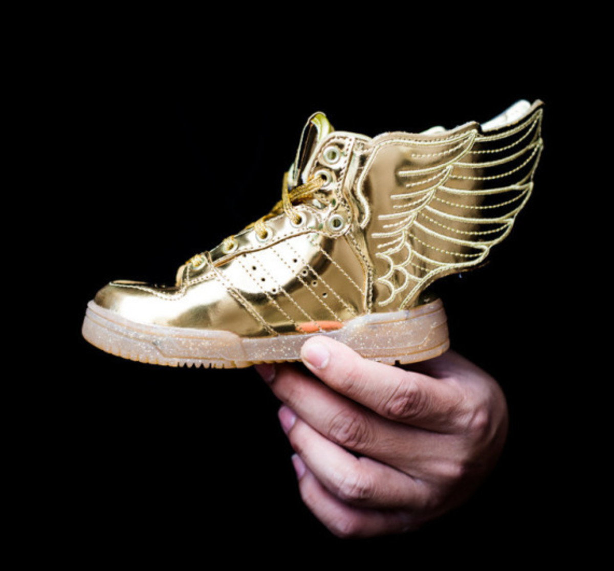 "size 40 216d5 3cced adidas Originals by Jeremy Scott JS Wings 2.0 Infant - ""Gold Metal"" - 0"