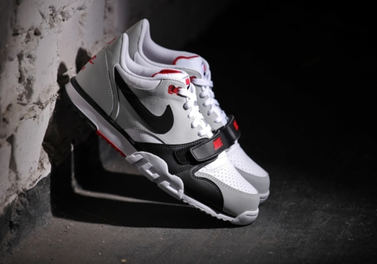Nike Air Trainer 1 Low - White/Black-Red