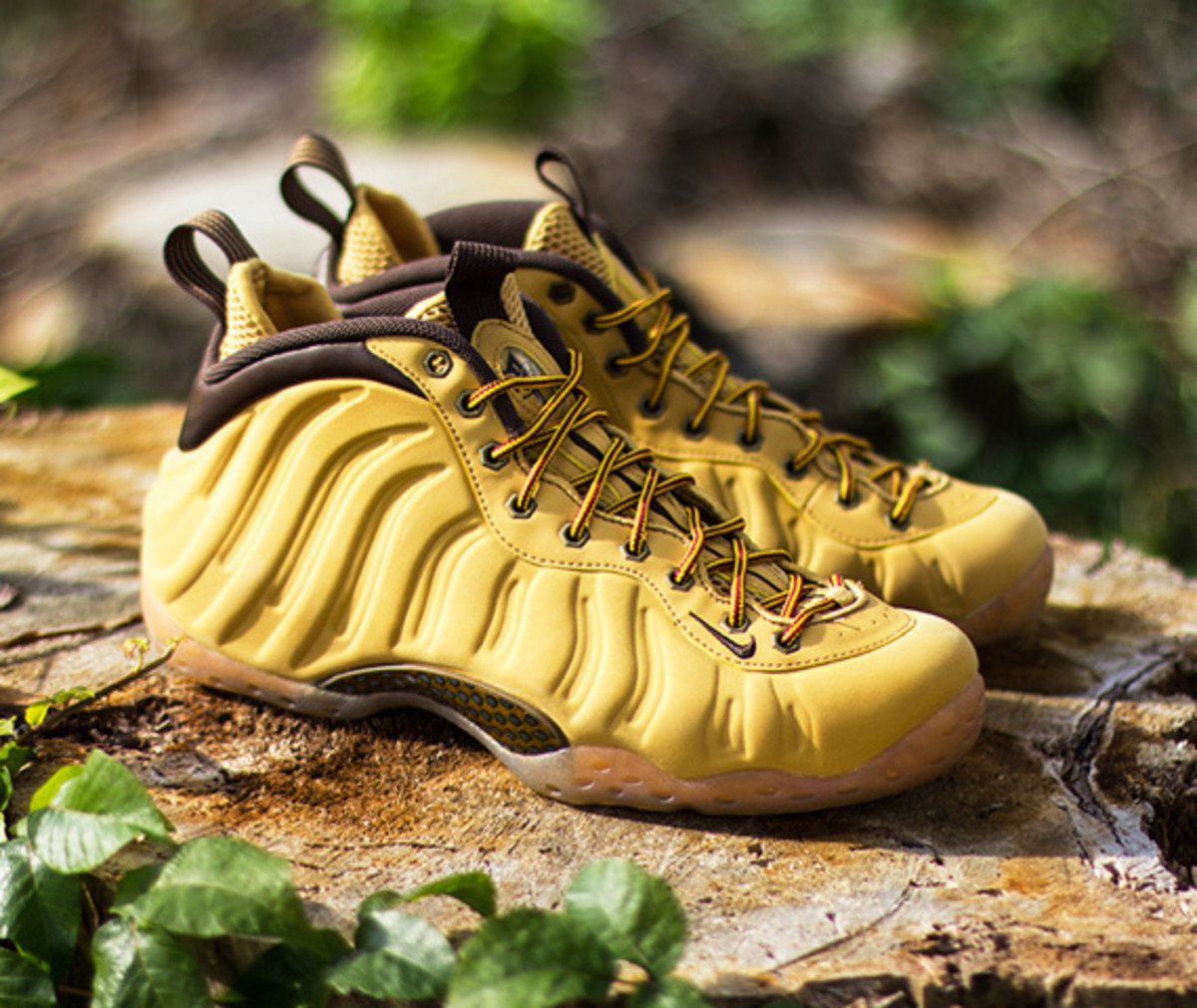 "cheap for discount b3183 a508e Nike Air Foamposite One – ""Wheat"" 