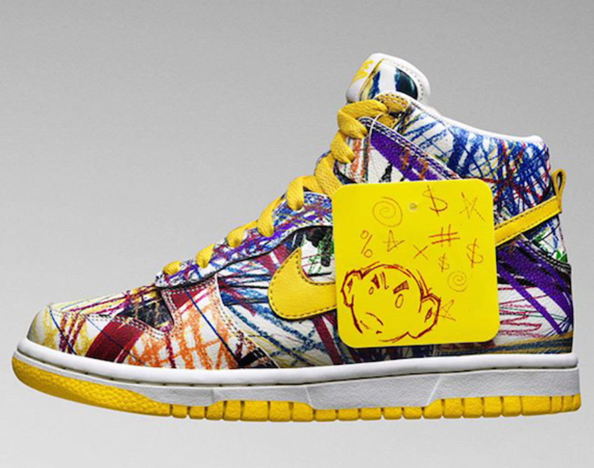 "Nike Dunk High GS - ""Crayon Scribble"" (2014)"