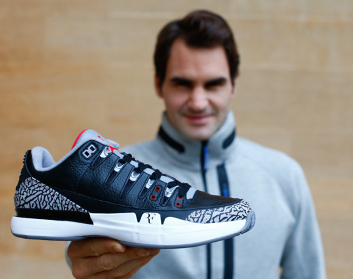 Roger Federer Talks Kicks: Nike Court Zoom Vapor AJ3