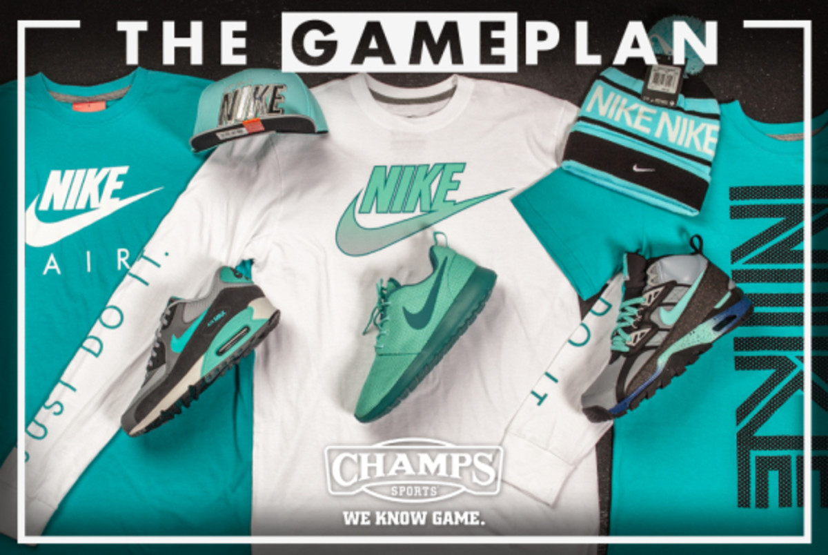 buy online 4360f 8cb90 The Game Plan by Champs Sports - Nike Hyper Jade Collection - 0