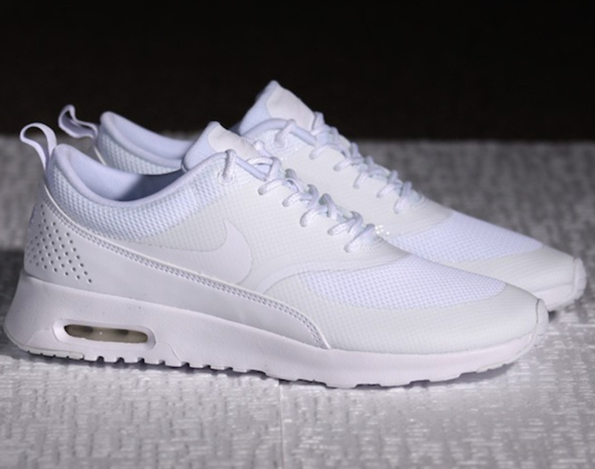 nike wmns air max thea all white freshness mag. Black Bedroom Furniture Sets. Home Design Ideas