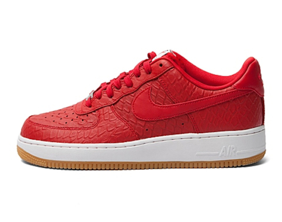 nike air force 1 low croc and gum pack freshness mag. Black Bedroom Furniture Sets. Home Design Ideas