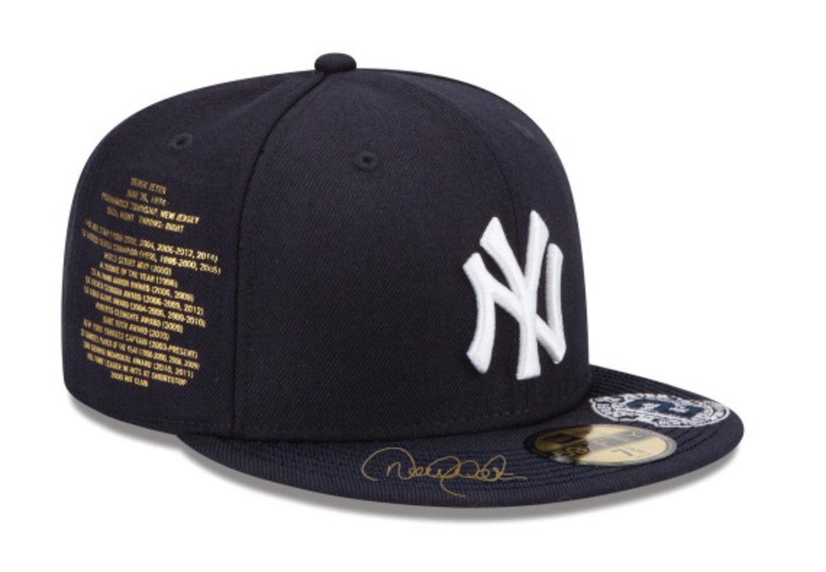 New Era for atmos NYC - NY Yankees Derek Jeter Fitted Hat