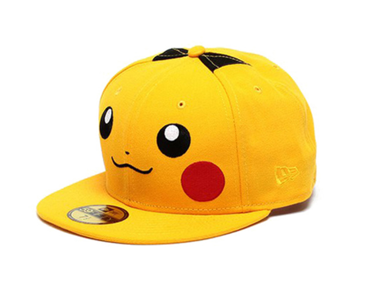 c27dc885c07 Beams x New Era - Pikachu Fitted Cap Collection - Freshness Mag