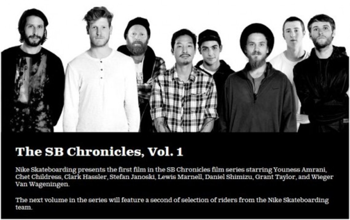 Nike SB: The SB Chronicles, Vol  1 | Teaser Video