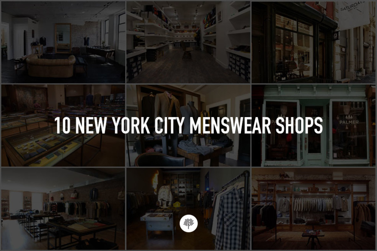 Freshness Curated: 10 New York City Menswear Shops