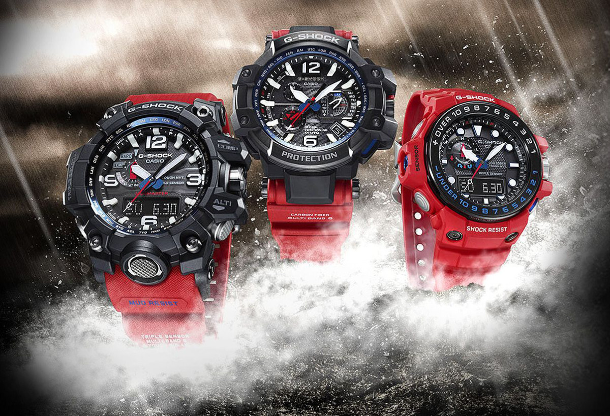 G-Shock Debuts Master of G Rescue Red Series