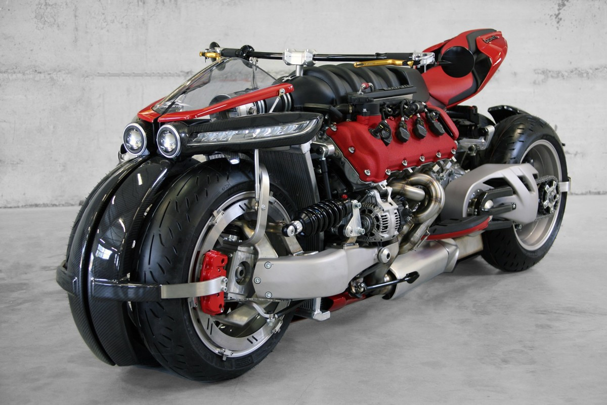 The Lazareth LM 847 Has a Monstrous Maserati V8 Engine