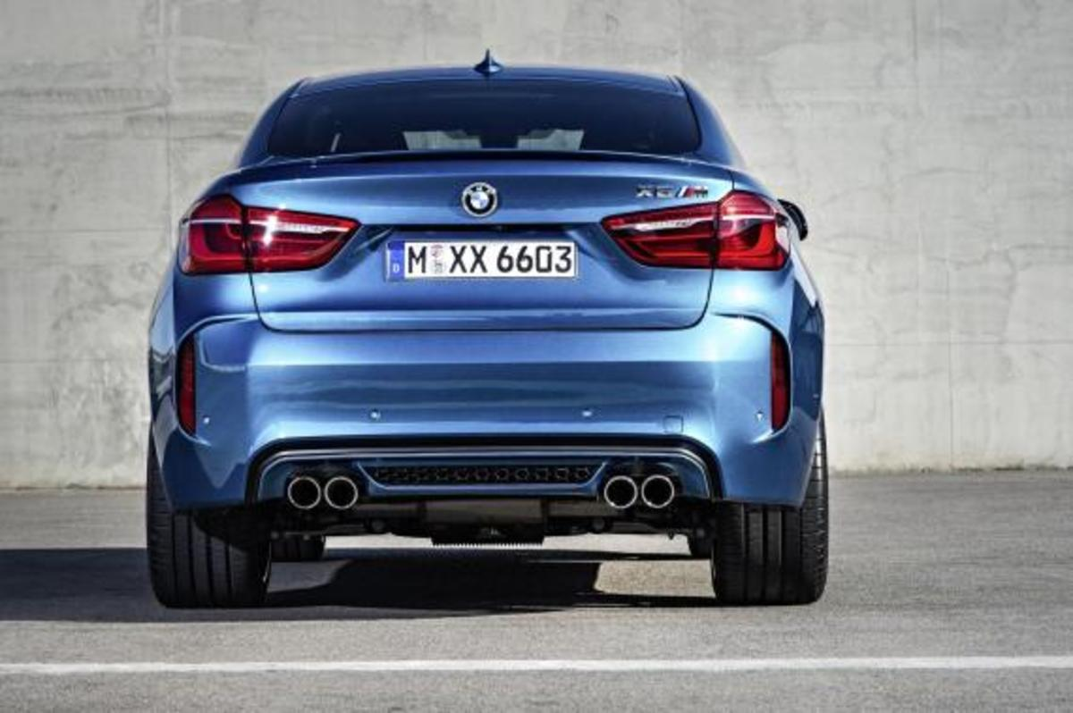 BMW Unveils 2016 X5 M and X6 M - 11