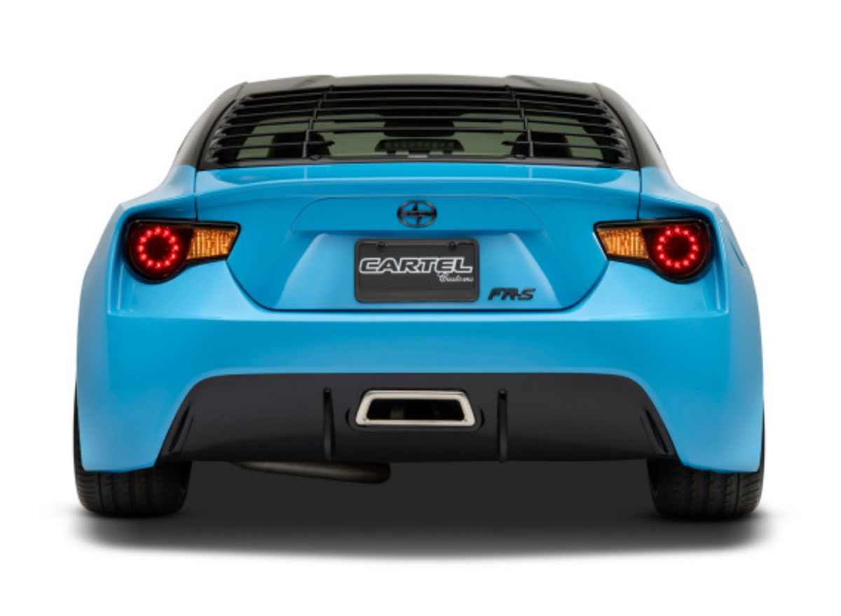 Scion FR-S Targa for SEMA 2014 - 6