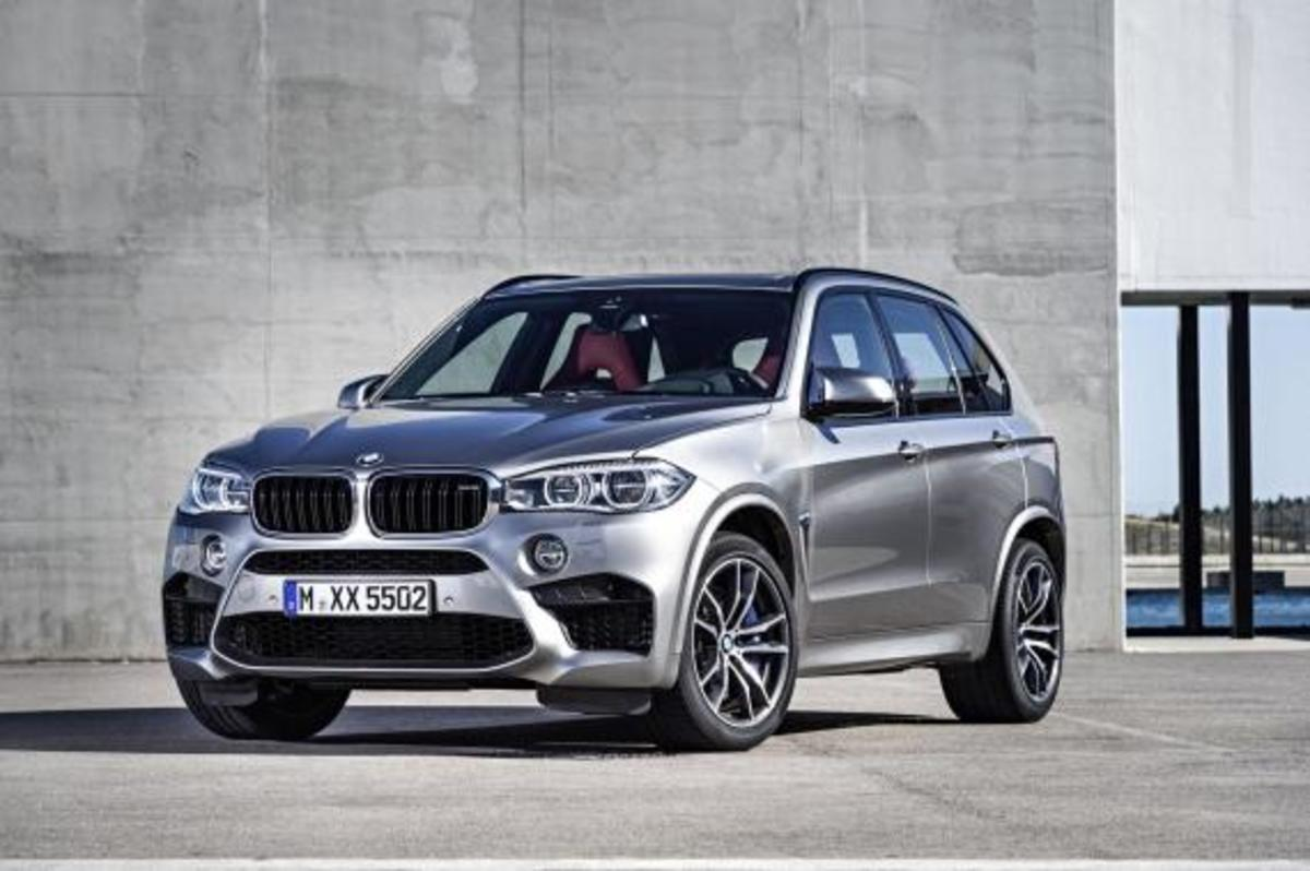 BMW Unveils 2016 X5 M and X6 M - 15