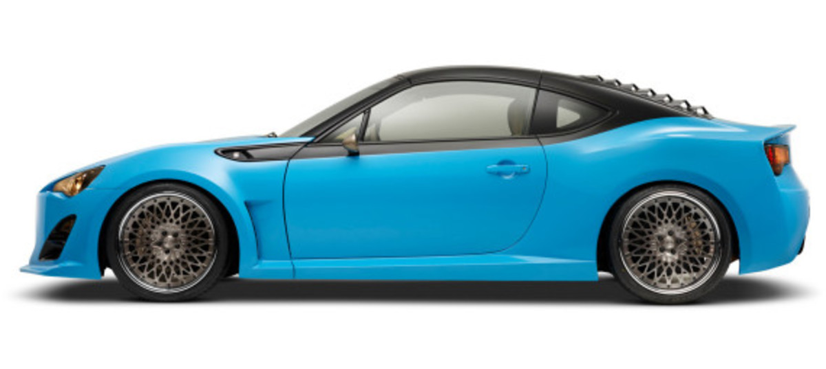 Scion FR-S Targa for SEMA 2014 - 2