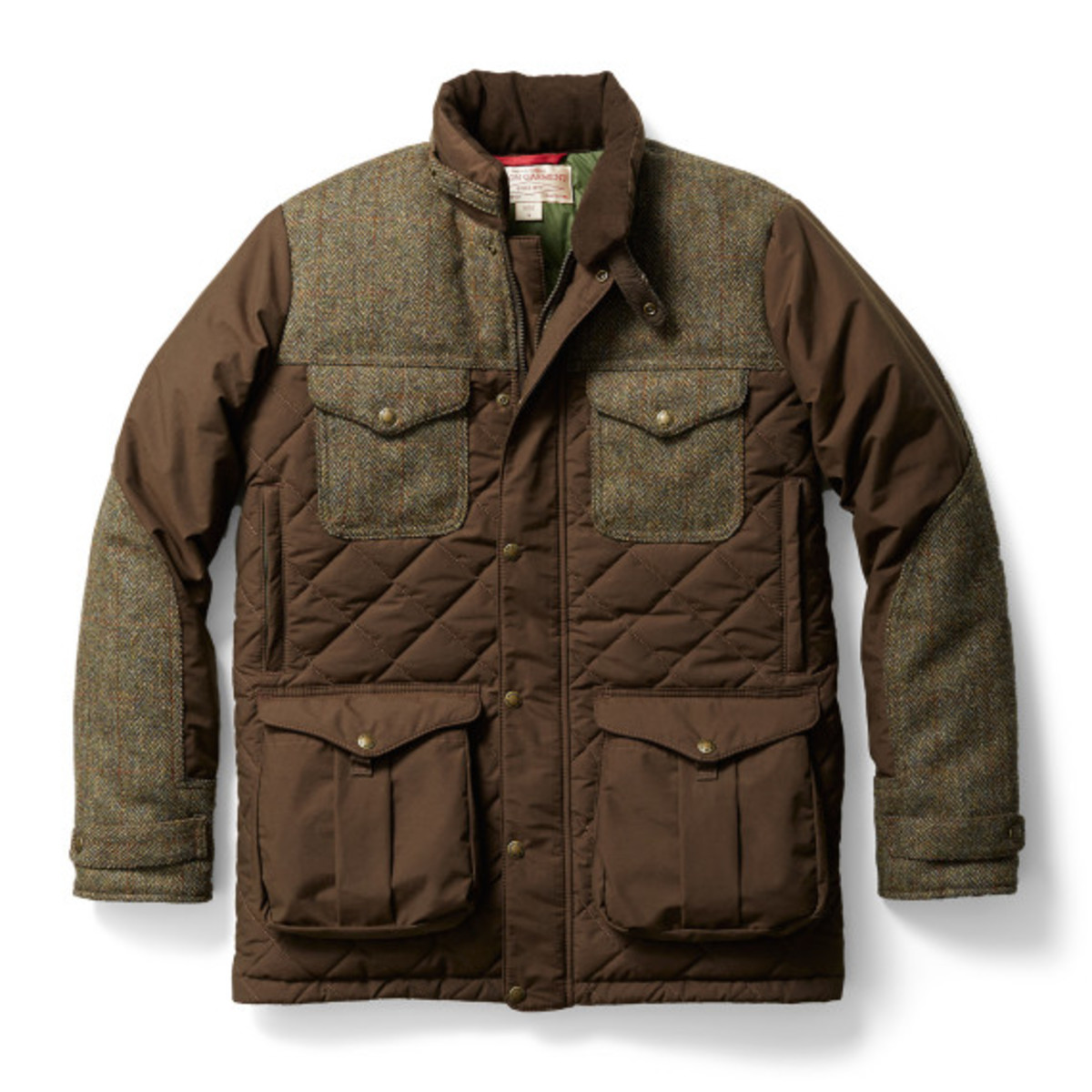 Harris Tweed x Filson - Parka Cruiser - 4