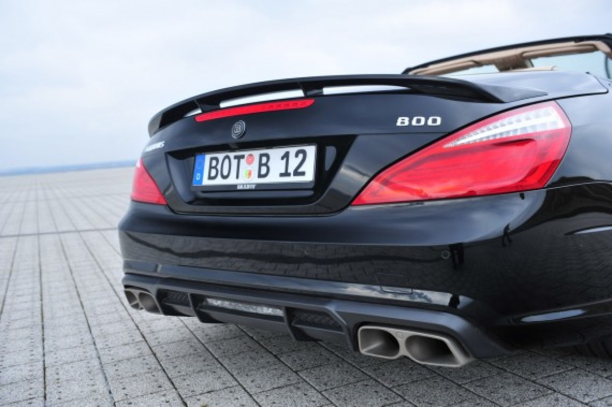 2013 Mercedes-Benz SL65 AMG – 800 Roadster Edition | By BRABUS - 14