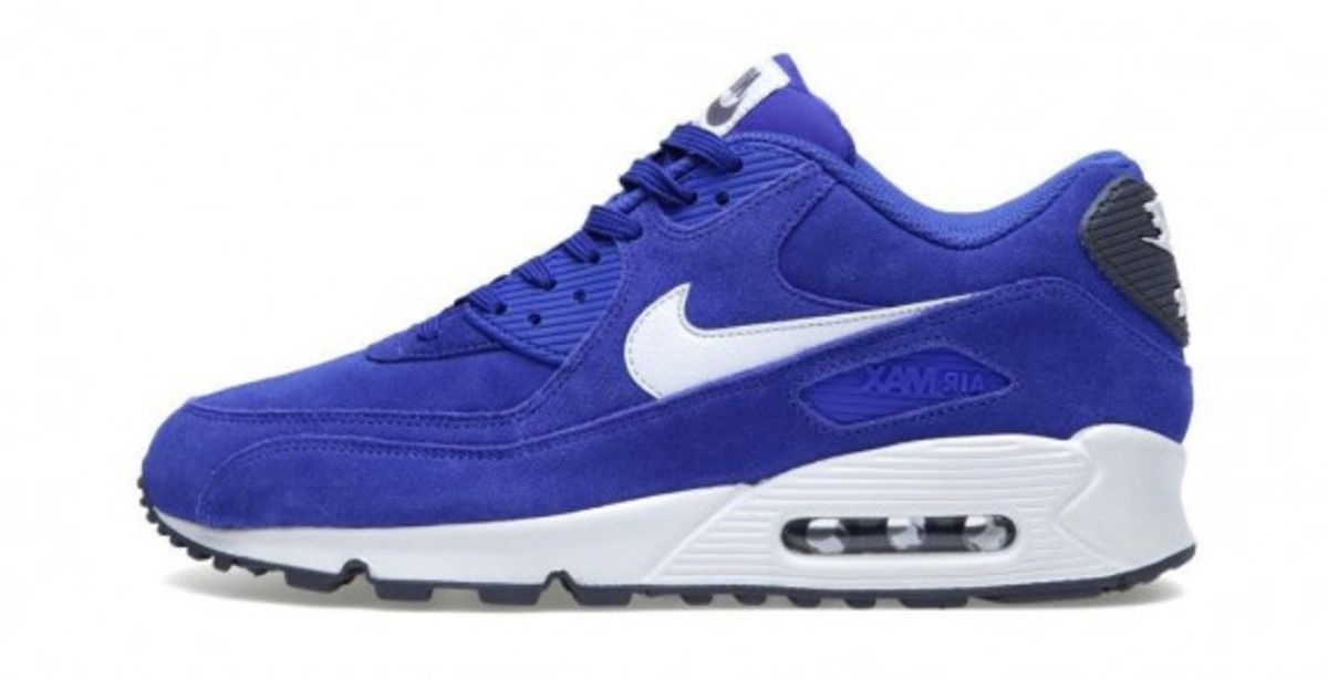 Nike Air Max 90 Essential   Hyperblue Suede