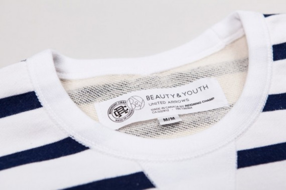 Beauty & Youth x Reigning Champ Capsule Collection - 3