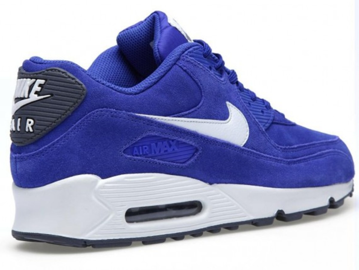 Nike Air Max 90 Essential – Hyperblue Suede - 2