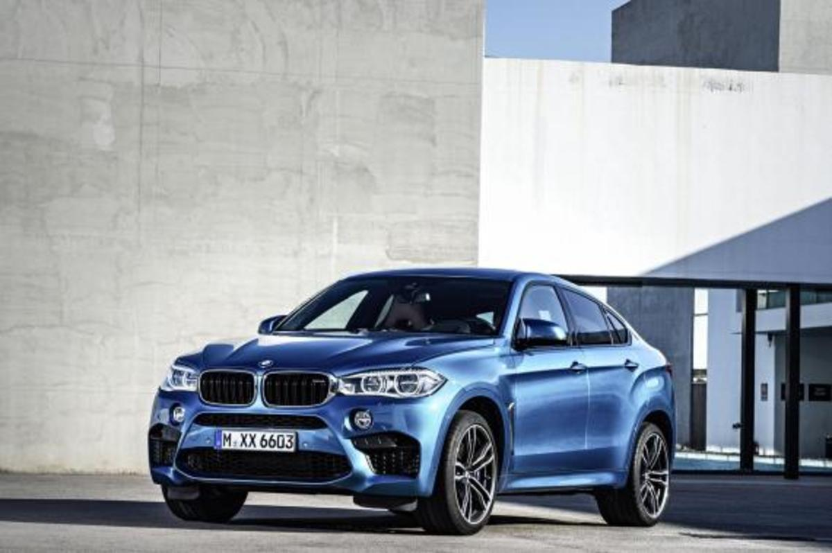 BMW Unveils 2016 X5 M and X6 M - 7