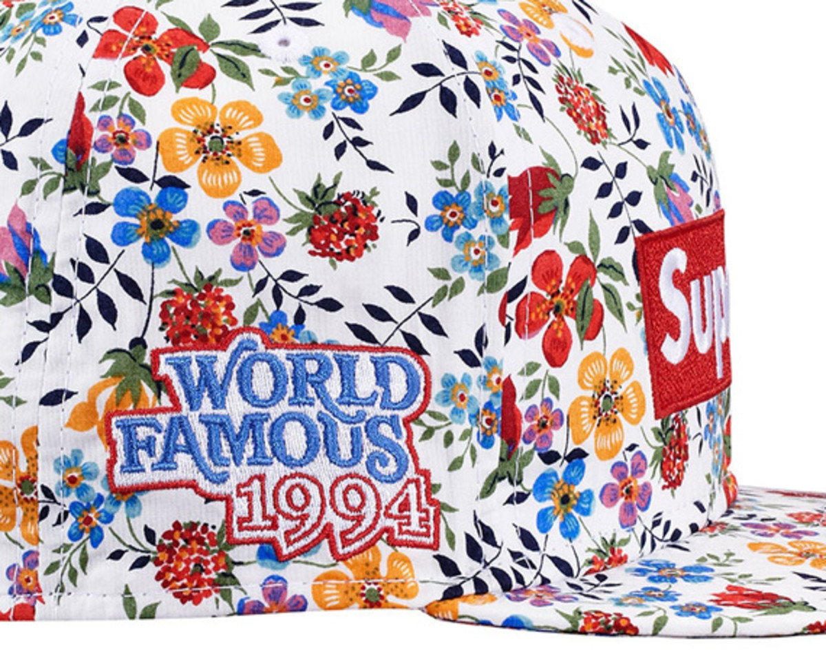 42cff2b6916 Supreme x Liberty x New Era – Floral Box Logo 59FIFTY Fitted Cap ...
