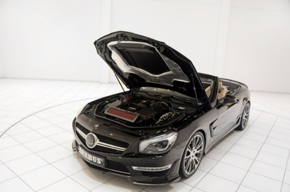 2013 Mercedes-Benz SL65 AMG – 800 Roadster Edition | By BRABUS - 9
