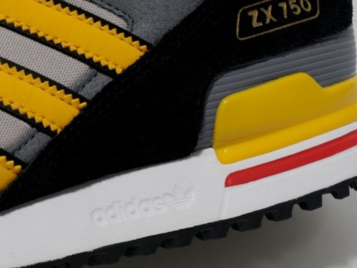 adidas Originals ZX 750 – Collegiate Silver/Sunshine Yellow - 2
