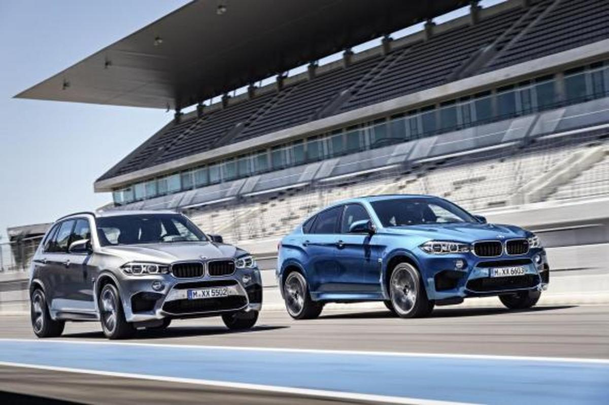 BMW Unveils 2016 X5 M and X6 M - 3