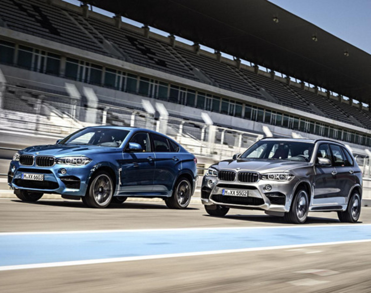 BMW Unveils 2016 X5 M and X6 M