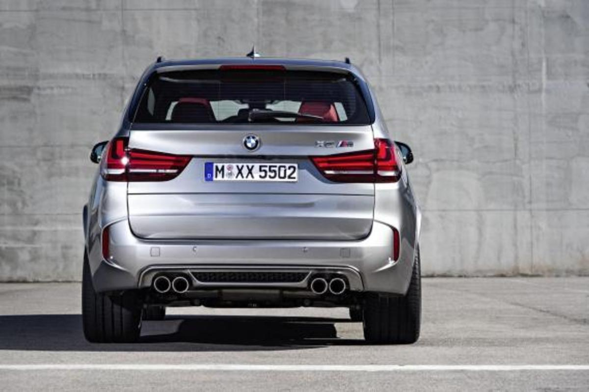 BMW Unveils 2016 X5 M and X6 M - 19