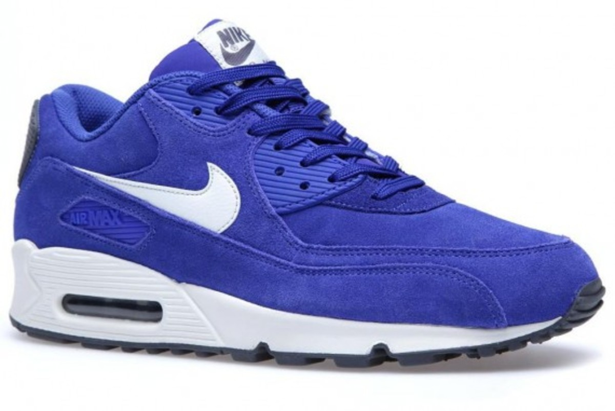 Nike Air Max 90 Essential – Hyperblue Suede - 3